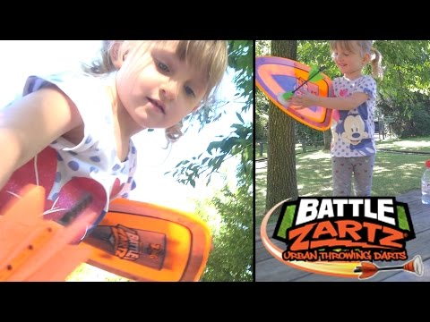 JOUET • Battle Zartz au Jardin d'Acclimatation avec M6 - Studio Bubble Tea Urban Throwing Darts