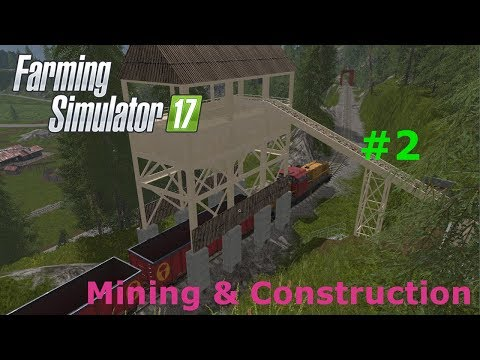 Mining & Construction map #2 - Cement delivery and tires pickup