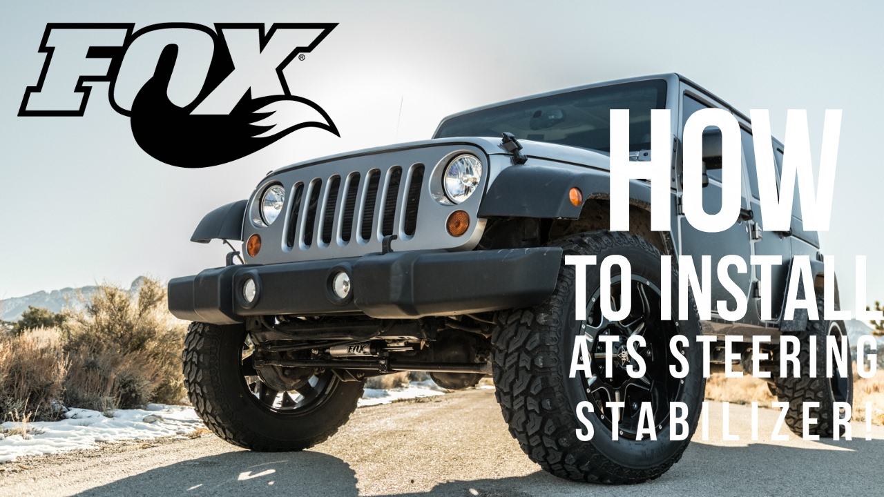 How To Install: BKTK983-02-070 2007+ Jeep JK Wrangler Fox ATS Steering  Stabilizer