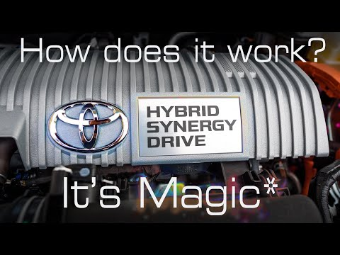 Here's How Toyota's Self Charging Hybrid works!!!