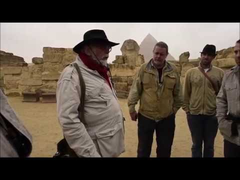 John Anthony West At The Sphinx Temples