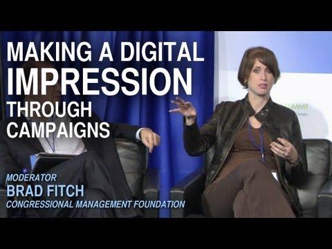 Making a digital impression through campaigns - eAdvocacy 2012