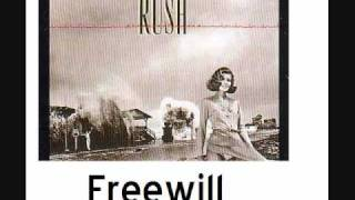 Watch Rush Freewill video