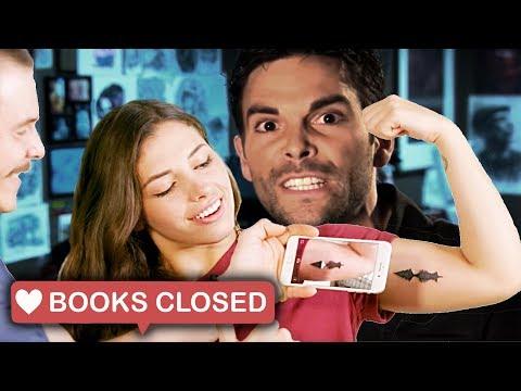 BOOKS CLOSED Podcast - Ep 015 - Custom Tattoo Design & Soundwave Tattoos
