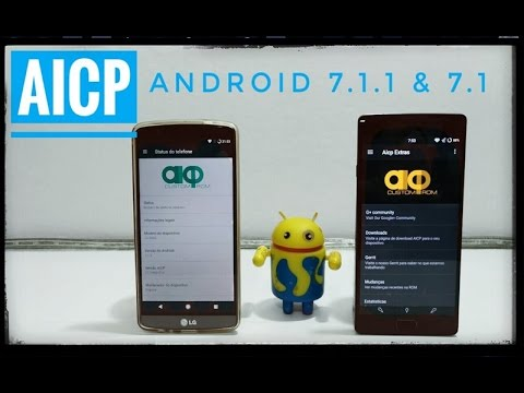 AICP 7.1.1 & 7.1 LG G3/G4/G2 Moto E2/G3/X2/X Style Zenfone 2 Galaxy S4/mini/S5/S3 Redmi Note 2/3 e +