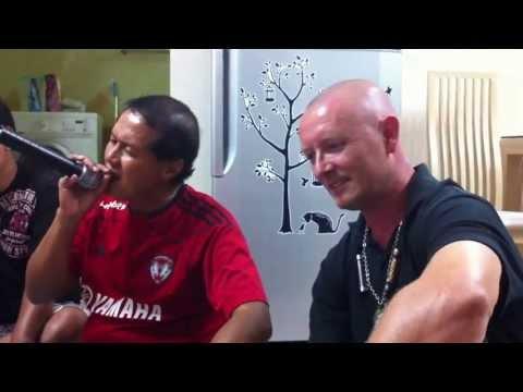 Singing Thai Karaoke Songs During Khun Ampol's Bithday On December 7, 2011