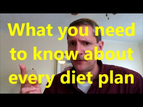 What you need to know about all Diet plans