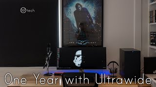 should you buy an ultrawide monitor my one year of 21 9 review with the dell u3415w