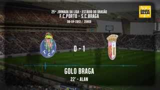 GOLOS DO PORTO vs BRAGA