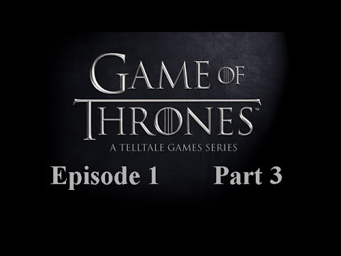 Royal politics blow (Game of Thrones Ep 1 part 3)