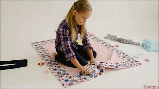 Paper Doll Blanket Fun