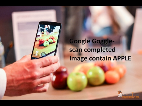 google goggle -  The best photo recognition app created by google.