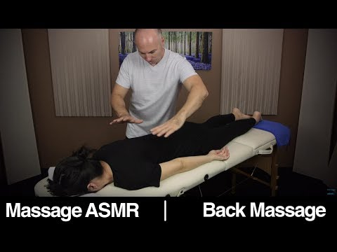ASMR Massage Back. Complete Body Relaxation