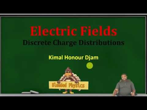 Physics for Scientists and Engineers: Electric Fields: Discrete Charge Distribution with Examples
