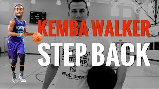 Kemba Walker Crossover Into Step Back BREAKDOWN | How to Shoot a Step Back Jumper