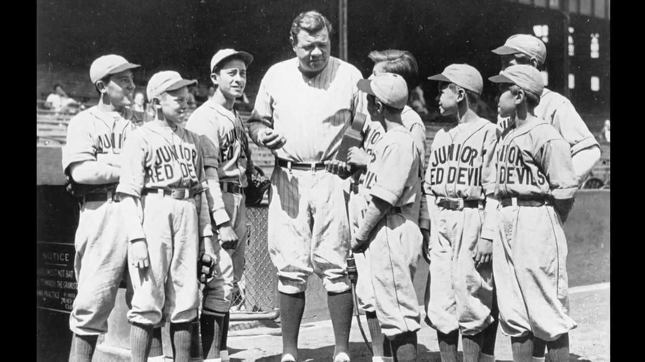 Babe Ruth Room Baseball Hall Of Fame Exhibit Talk