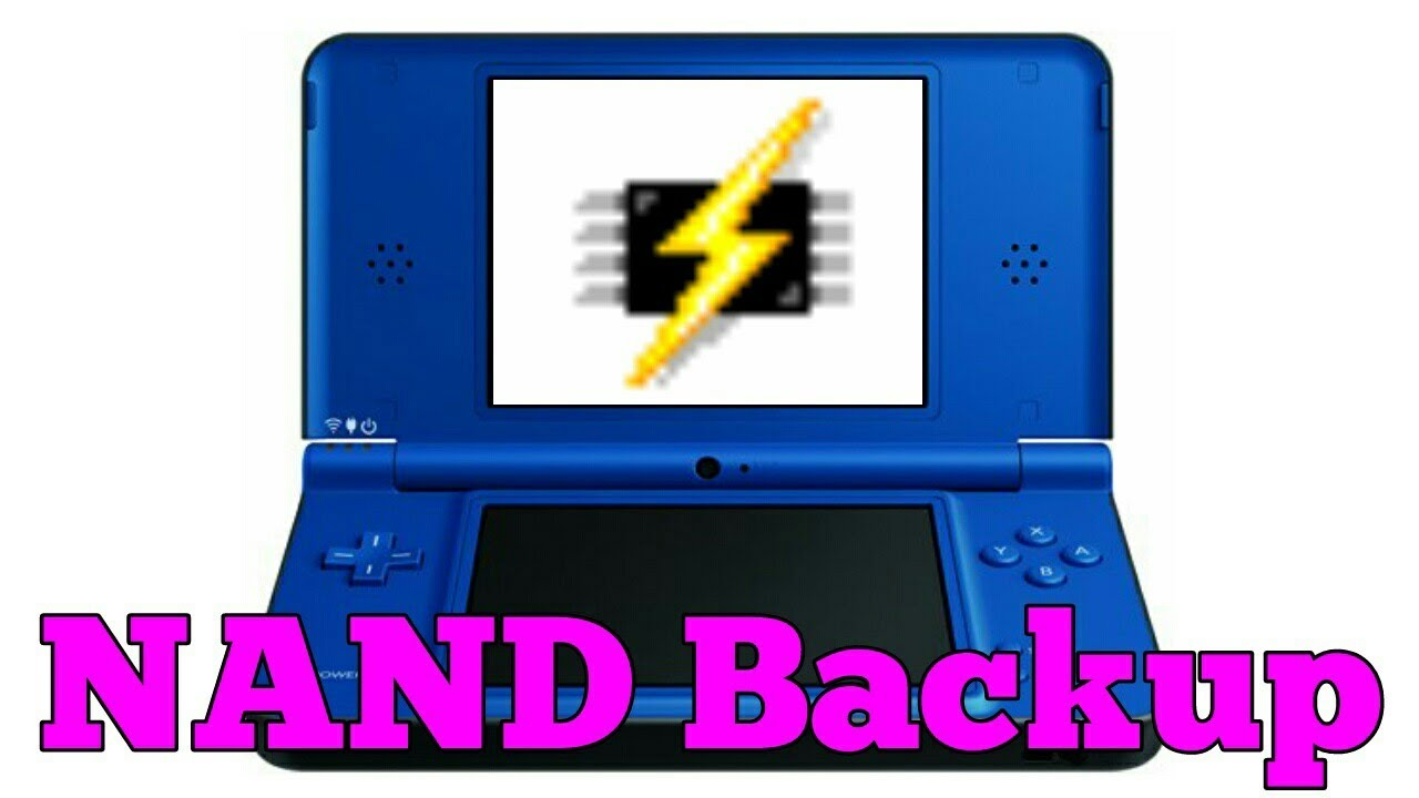 How to make a NAND Backup from your Nintendo DSi (XL) (without DSiWare) by  NintendoBrew