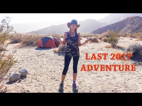 Anza Borrego Campout   Last 2017 Adventure