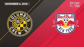 HIGHLIGHTS: Columbus Crew SC vs. New York Red Bulls | November 4, 2018