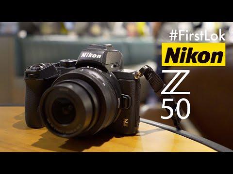 First Lok: Nikon Z50 with stabilisation test video sample