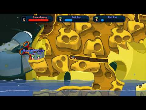 Worms Reloaded Death-Match: Brie-lliant Mines |