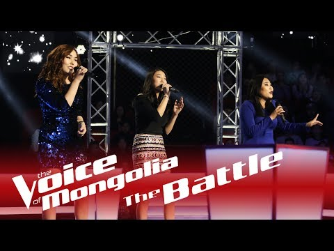 """Enguun vs. Alungoo vs. Davaajargal - """"Winter"""" - The Battle - The Voice of Mongolia 2018"""