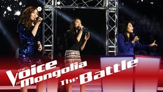 "Enguun vs. Alungoo vs. Davaajargal - ""Winter"" - The Battle - The Voice of Mongolia 2018"