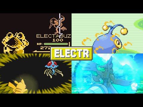 Evolution of Pokémon Moves (Electric Type)