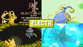 Evolution of Pokémon Moves (Electric Type)