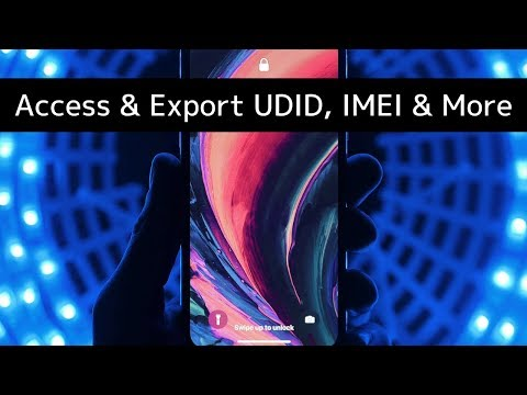 How to Access and Export iPhone Serial, UDID, IMEI and More