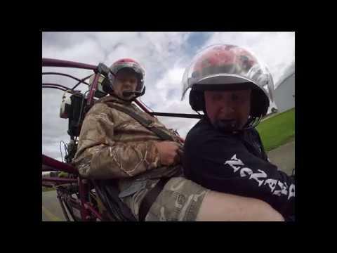 Powered Parachute Flight over Rush County, Indiana - 9-11-18