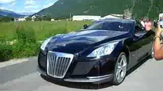 Maybach Exelero on street