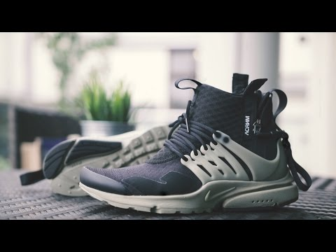 NIKELAB AIR PRESTO MID X ACRONYM REVIEW + ON FEET