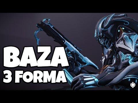WARFRAME: - BAZA SUBMACHINE GUN    Review & Build