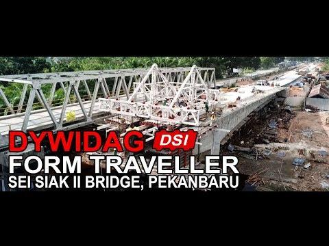 [Teaser] Pembangunan Jembatan Sei Siak II Pekanbaru (PT DSI)