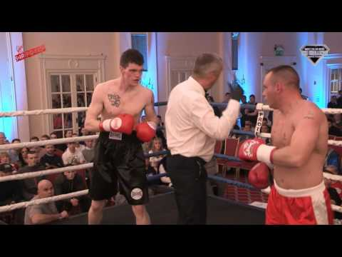 The White Collar Boxer Challenge (3/2017) - Andy Webb Vs Ben Red