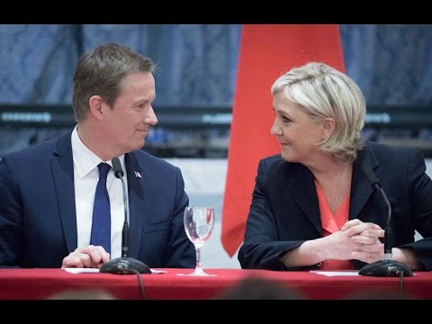 Marine Le Pen et Nicolas Dupont-Aignan : Pour alliance patriote et républicaine |Marine 2017