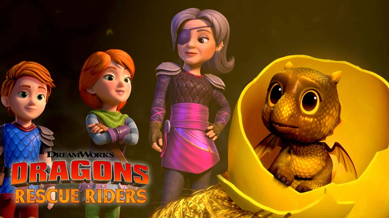 Finding A Dragon Baby Dragons Rescue Riders Hunt For The Golden Dragon Youtube