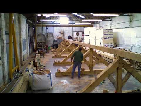 Oak Frame Barn Roof Conversion