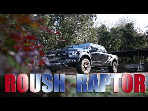 The All American Driver drives a ROUSH RAPTOR! #ford #raptor #roush