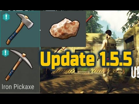 Last Day on earth Update 1.5.5 Bauxite ore for Aluminium, Iron tools & bunker alfa changes