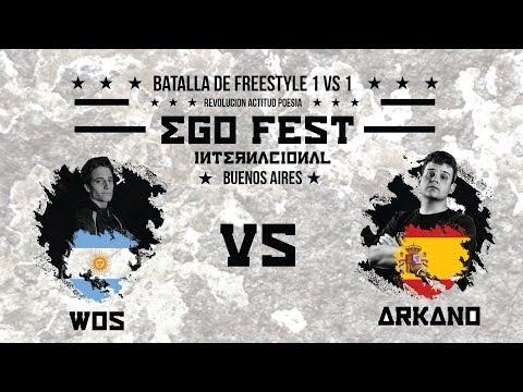 WOS VS ARKANO / BATALLA INTERNACIONAL / EGO FEST BUENOS AIRES/ 3-11-17