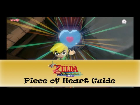 The Wind Waker HD: Piece Of Heart Guide