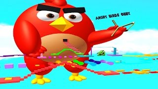 ⭐ [ROBLOX: Angry Birds Obby!] - Lets Play - The Easiest Obby Ever! ⭐