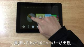 Kindle Fire Hdx 8.9(2013)fire Os 4「sangria」