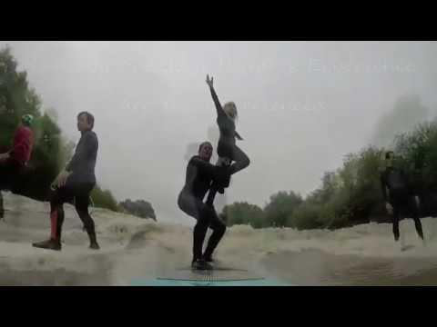 Tandem Surfing The Severn Bore Team Uk Sept 2018
