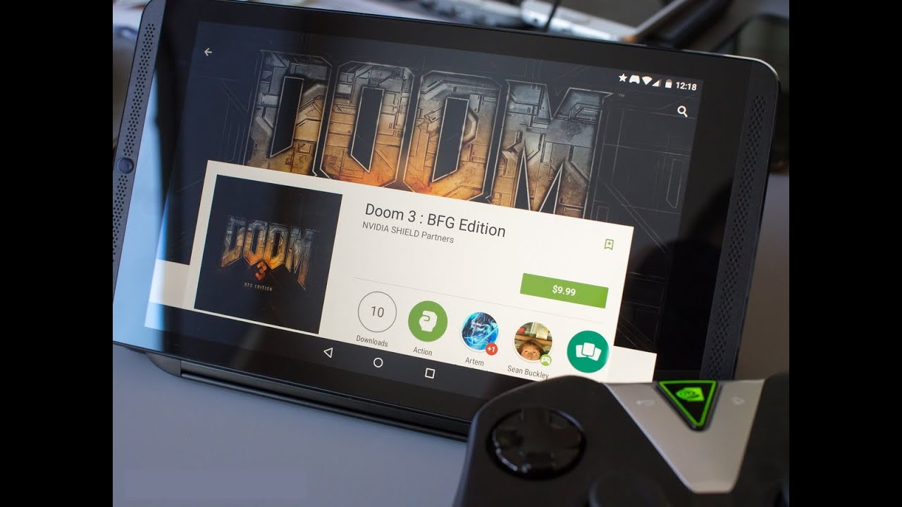Doom 3 BFG Edition Android Trailer HD - Teaser