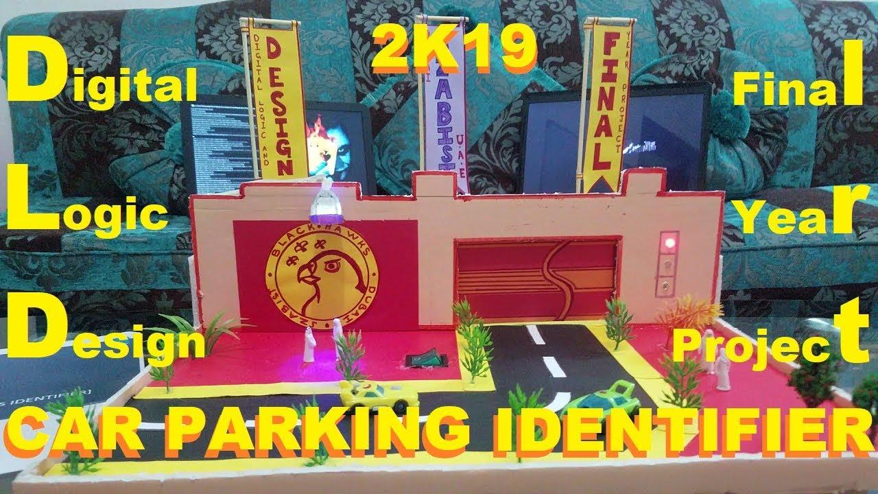 Car Parking Identifier Using Gates No Arduino Dld Project 2019