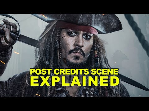 PIRATES OF THE CARIBBEAN: DEAD MEN TELL NO TALES Post Credit