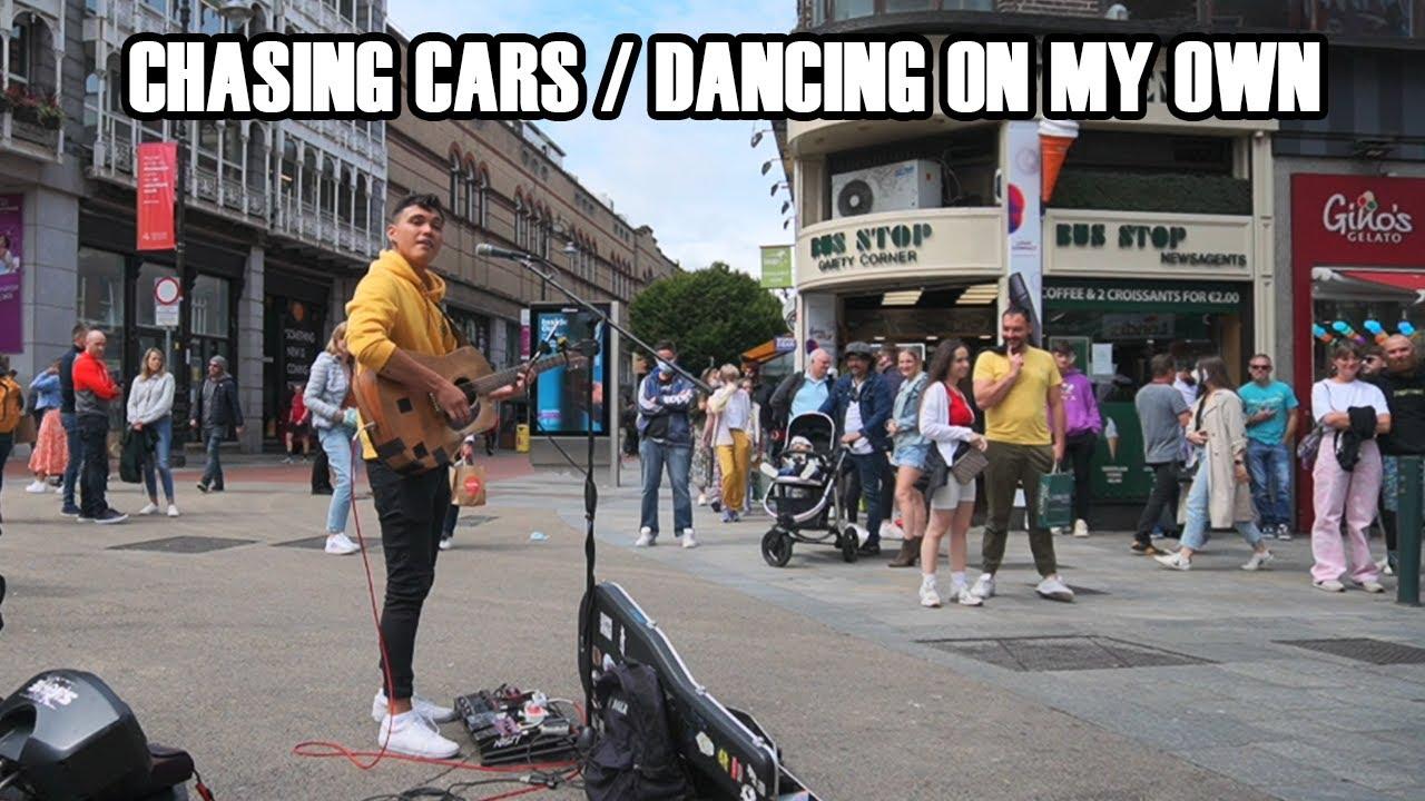 busking: chasing cars / dancing on my own - snow patrol / callum scott